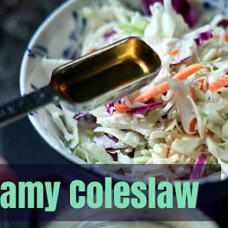 Paleo Creamy Coleslaw