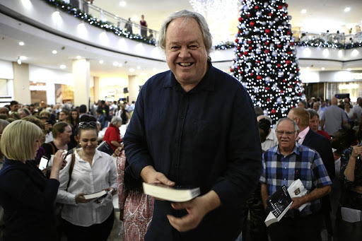 The author of 'The President's Keepers', Jacques Pauw, at the book's launch in Brooklyn, Pretoria.