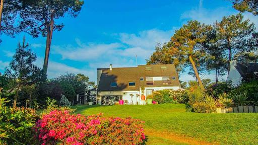 La Propriété du Verdon, La maison vue du Parc