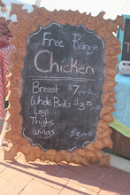 Photo: You can buy chicken, pork and beef and sometimes lamb as well as fruits and veggies at the market!