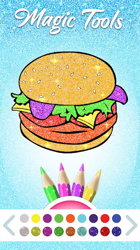 Food Coloring Game - Learn Colors modavailable screenshots 7