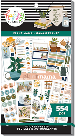 Me & My Big Ideas Happy Planner Stickers Value Pack - Plant Mama 554