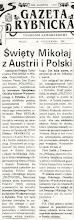 Photo: Gazeta Rybnicka - 30.10.1992 r.