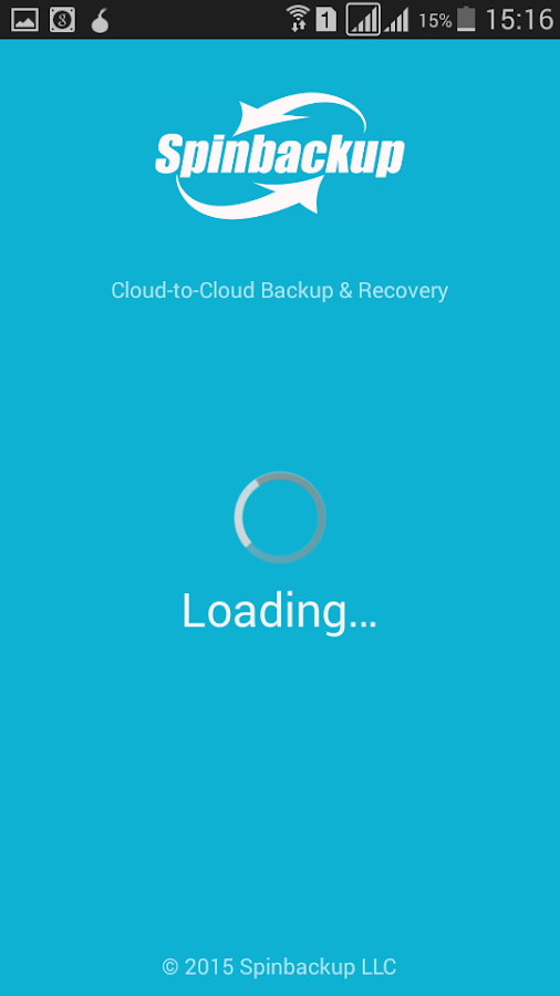 Spinbackup - Backup & Restore- screenshot