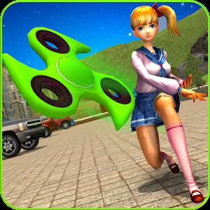 Fidget Spinner Super Hero Online PC (Windows / MAC)