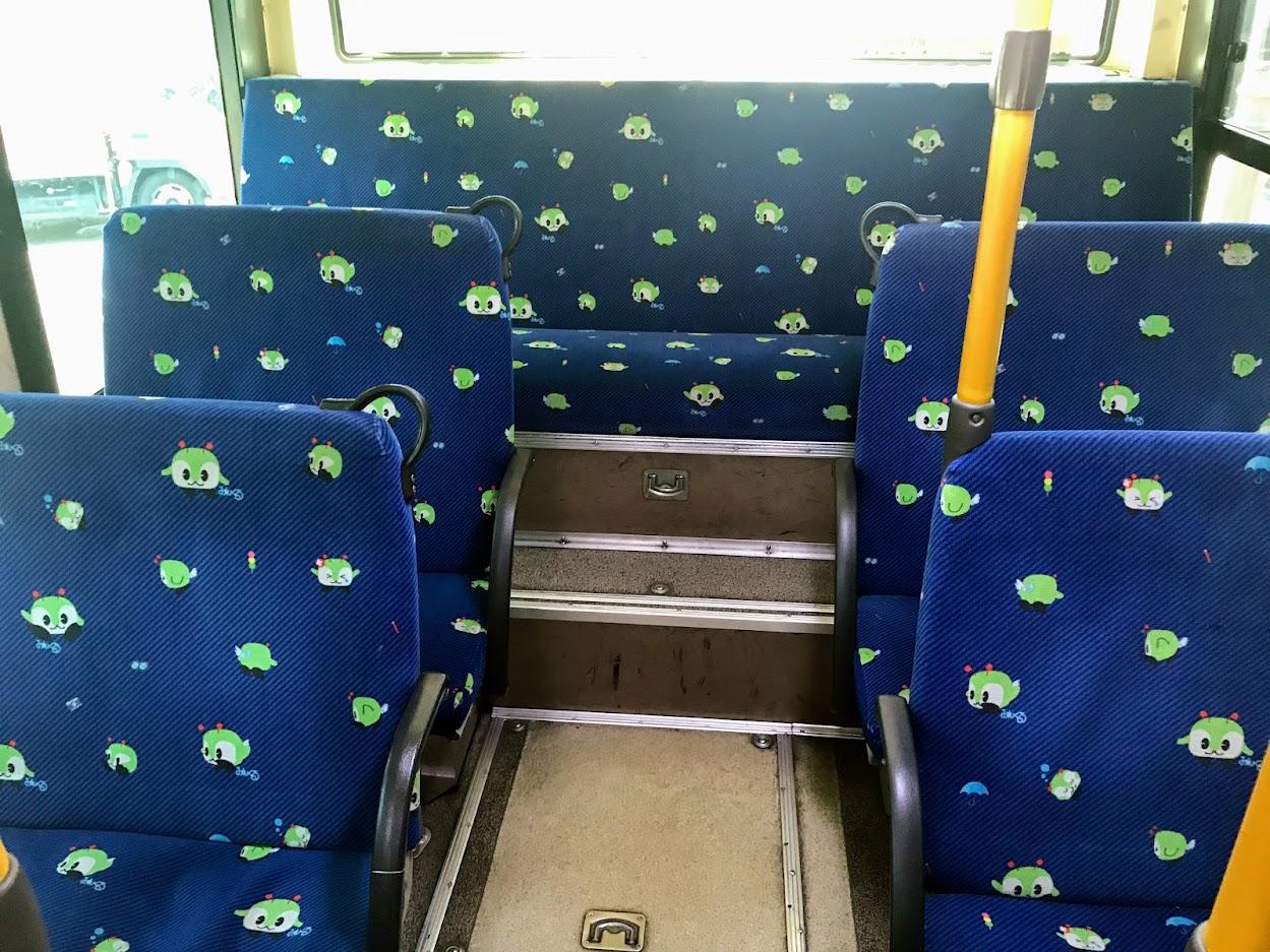 いわくにバス車内