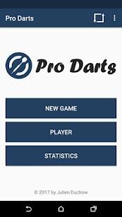 Pro Darts Scoreboard - náhled