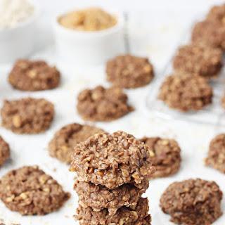 Crunchy Peanut Butter No-Bake Cookies.