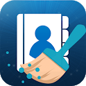 Contacts cleaner optimizer merge and clean Backup icon
