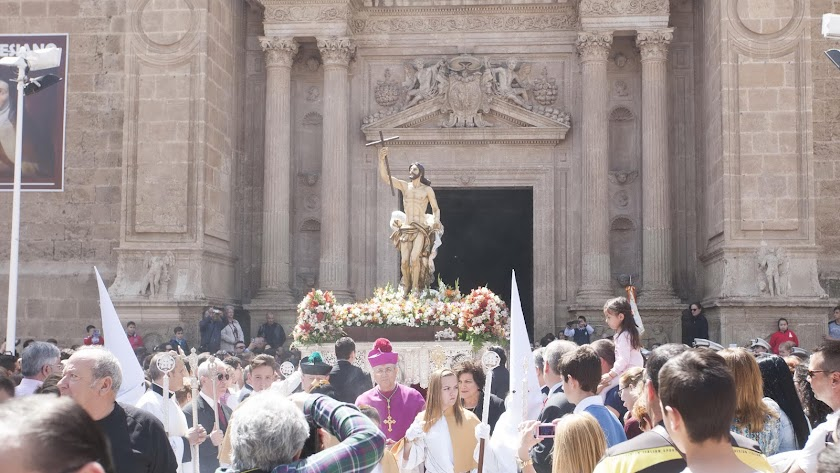 Jesucristo resucitado saldrá en procesión de La Catedral al finalizar la misa estacional.