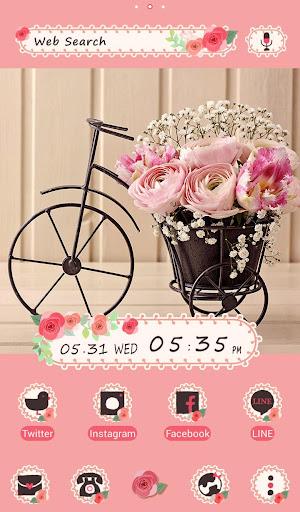 Cute Wallpaper Flower Bicycle 1.0.0 Windows u7528 1