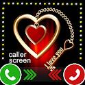 Caller Screen,  Caller Screen themes free icon