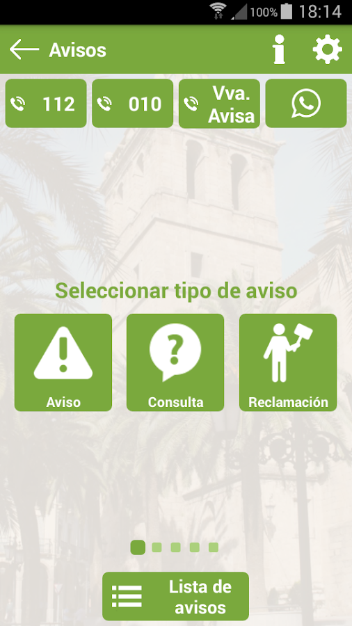 App Villanueva de la Serena- screenshot