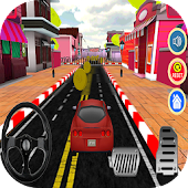Driving car in city 2018