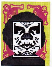 Photo: Wenchkin's Mail Art 366 - Day 182, card 182a
