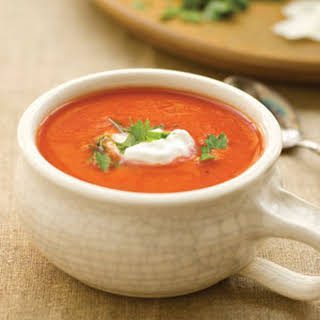 Dressed Up Tomato Soup.