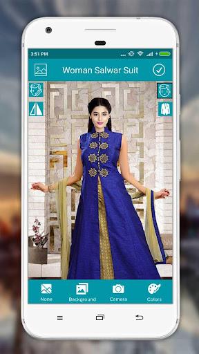 Women Salwar Suit Photo Editor screenshot 8