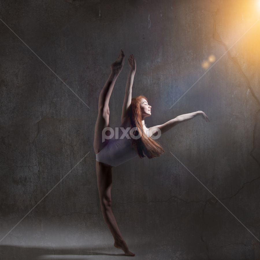 Ashi by Adrian Fowler - People Portraits of Women ( studio, graphic, professional, dance )