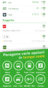 Citymapper: Metro, Bus e Treni- miniatura screenshot