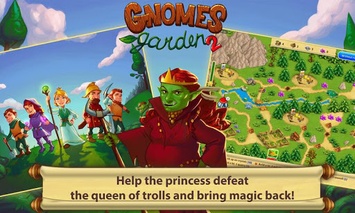 Gnomes Garden: The Queen of Trolls - screenshot