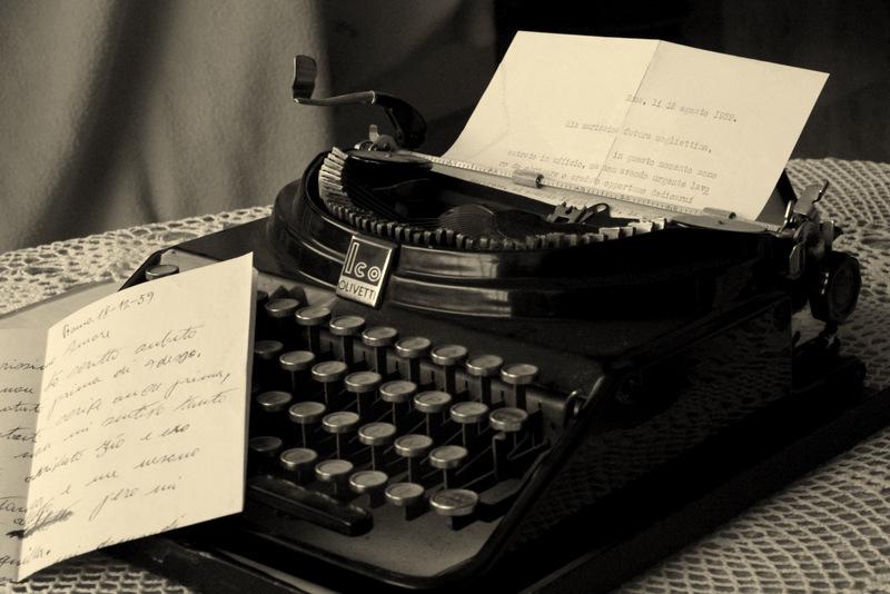 Lettera d'amore dello scorso secolo...... di Maruzzella