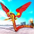 Flying Snake Transform Robot War: Robot Games
