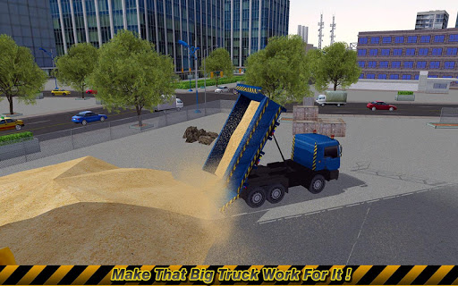Loader & Dump Truck Simulator  screenshots 3