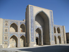 Photo: Bukhara - Abdul Asiz Madrassa
