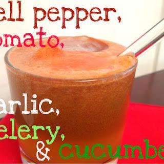 Farmer's Market Juice with tomato, bell pepper & garlic