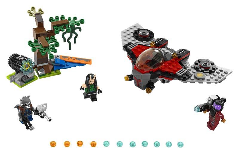 Contenido de Lego® 76079 Ataque de Ravager