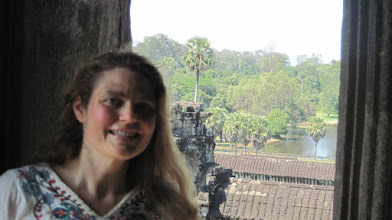 Photo: view from Angkor Wat
