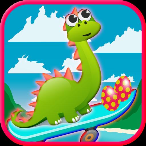 迪諾運行遊戲 益智 App LOGO-硬是要APP