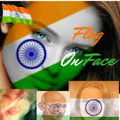 Indian Flag On Face Android APK Download Free By U2 Apps