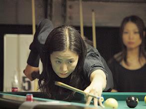 Photo: 準決勝では福家の強烈な捲りに涙を呑んだ梶谷景美