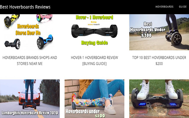 Best Hoverboard Review