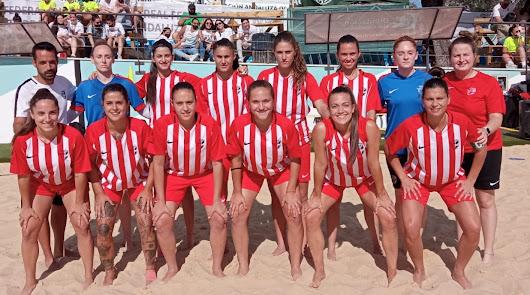 Buen papel de Almería en el I Campeonato Andaluz de Fútbol Playa
