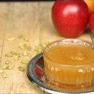 Applesauce, Cinnamon And Cardamom.