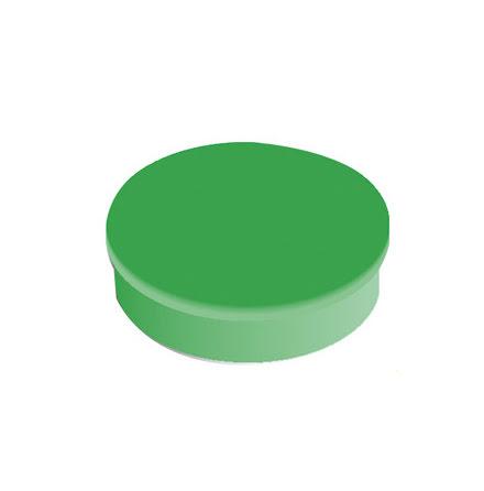 Magnet rund 30mm grön    10/fp