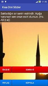 Kısa Dini Sözler screenshot 3