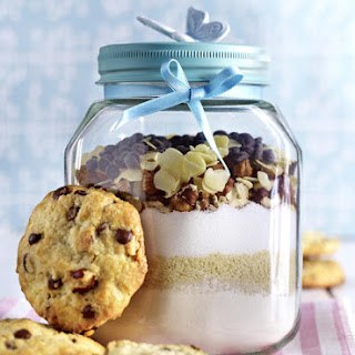 Chocolate Chip Cookies (made with Cookie Mix in a Jar)
