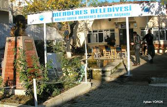 Photo: Çile Köy Kahvehanesi Çile Üçdere Mevkii'ndeki kapalı patikanın açılıp işaretlenmesi. EFES-MİMAS (İYON) YOLU 2. Etabı - 29.11.1015