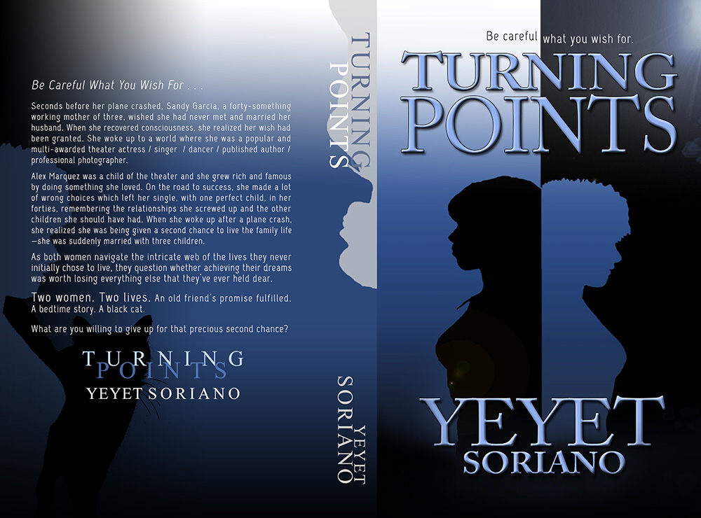 TURNING POINTS Cover with Blurb