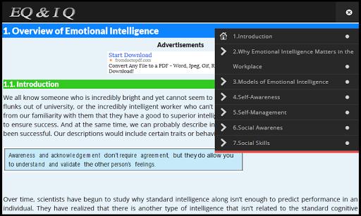 EQ IQ Emotional Intelligence