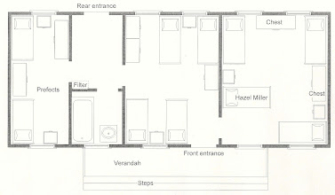 Photo: Plan of house in girls' phaze