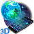 3D Dreamy Solid Earth Theme file APK Free for PC, smart TV Download