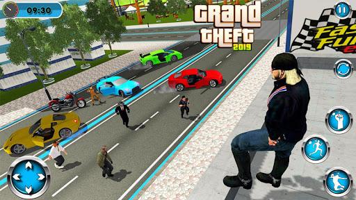 Crime City Gangster 2019: Theft Car Driver 1.5 Screenshots 12