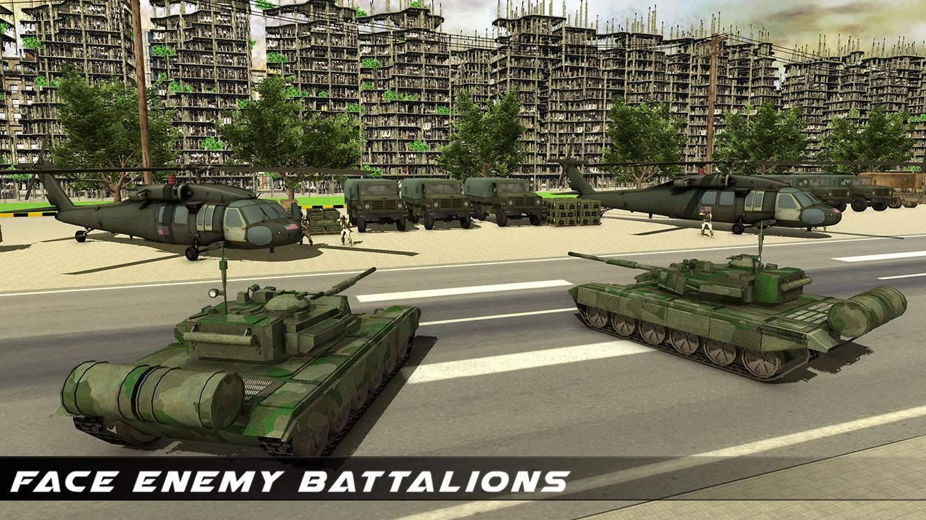 US Army Transport Game - Army Cargo Plane & Tanks- screenshot