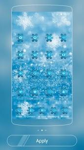 Ice Frozen Snow Xmas Theme 2