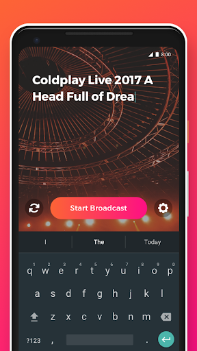 YouStream: Broadcast Videos to YouTube 1.0.5 screenshots 2
