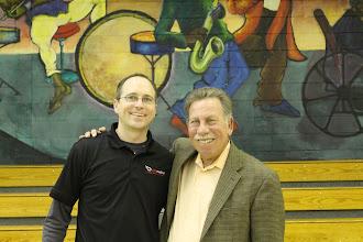 Photo: Stuart Greenberg and Andy Junikiewicz from ABC Medical.